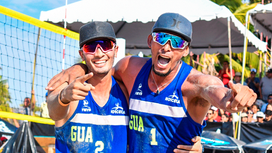 Guatemala se colgó el bronce en el V Tour NORCECA de Playa 2019