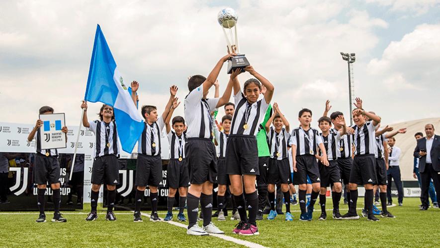 Guatemala será representada por 30 niños en el Mundial de la Juventus Academy 2019