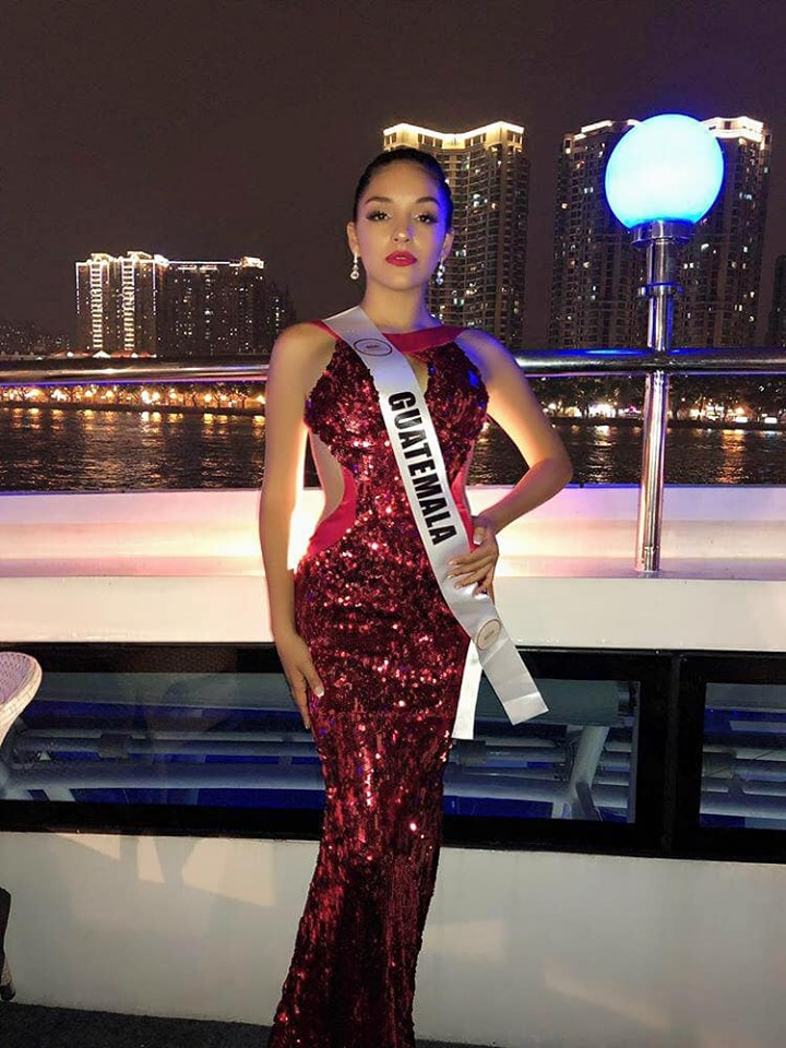 Guatemalteca sobresalió en el Top 12 de Miss Landscapes International 2019 en China