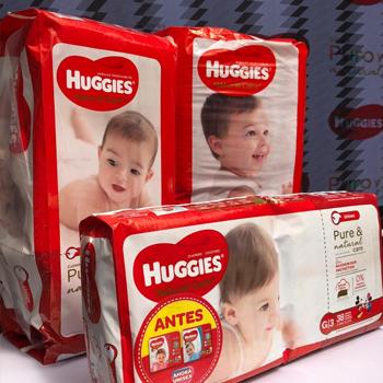 Huggies Natural Care Cuidado Puro y Natural para proteger la piel de los bebes