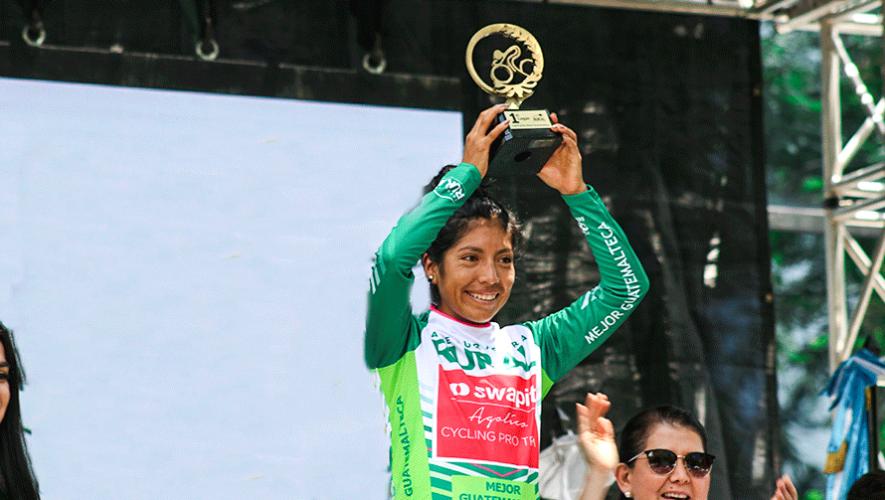Jasmin Soto, la mejor guatemalteca de la 19 Vuelta Femenina a Guatemala 2019