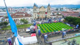 La Plaza de la Constitución, sede de la Centroamérica Cup Guatemala de Fútbol 7 2019