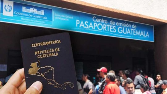 Lugares para sacar el pasaporte en Guatemala
