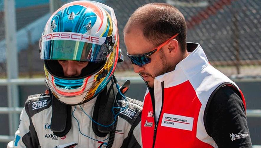Mateo Llarena representará a Guatemala en la Porsche GT3 Cup Trophy 2019 en Uruguay