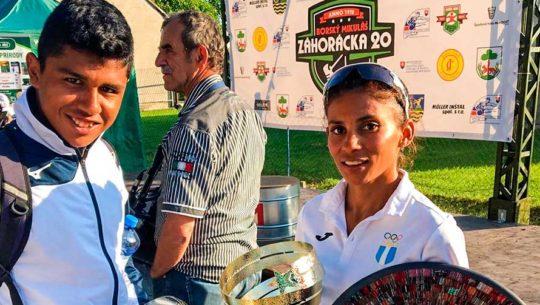 Mirna Ortiz conquistó el oro en el Race Walking Borský Mikulas 2019