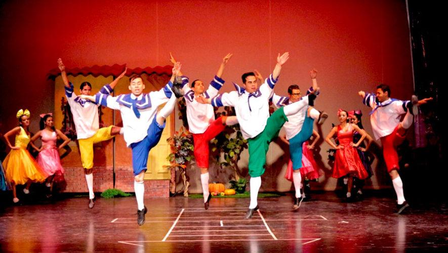 Obra coreográfica infantil del Ballet Moderno y Folklórico de Guatemala | Julio 2019
