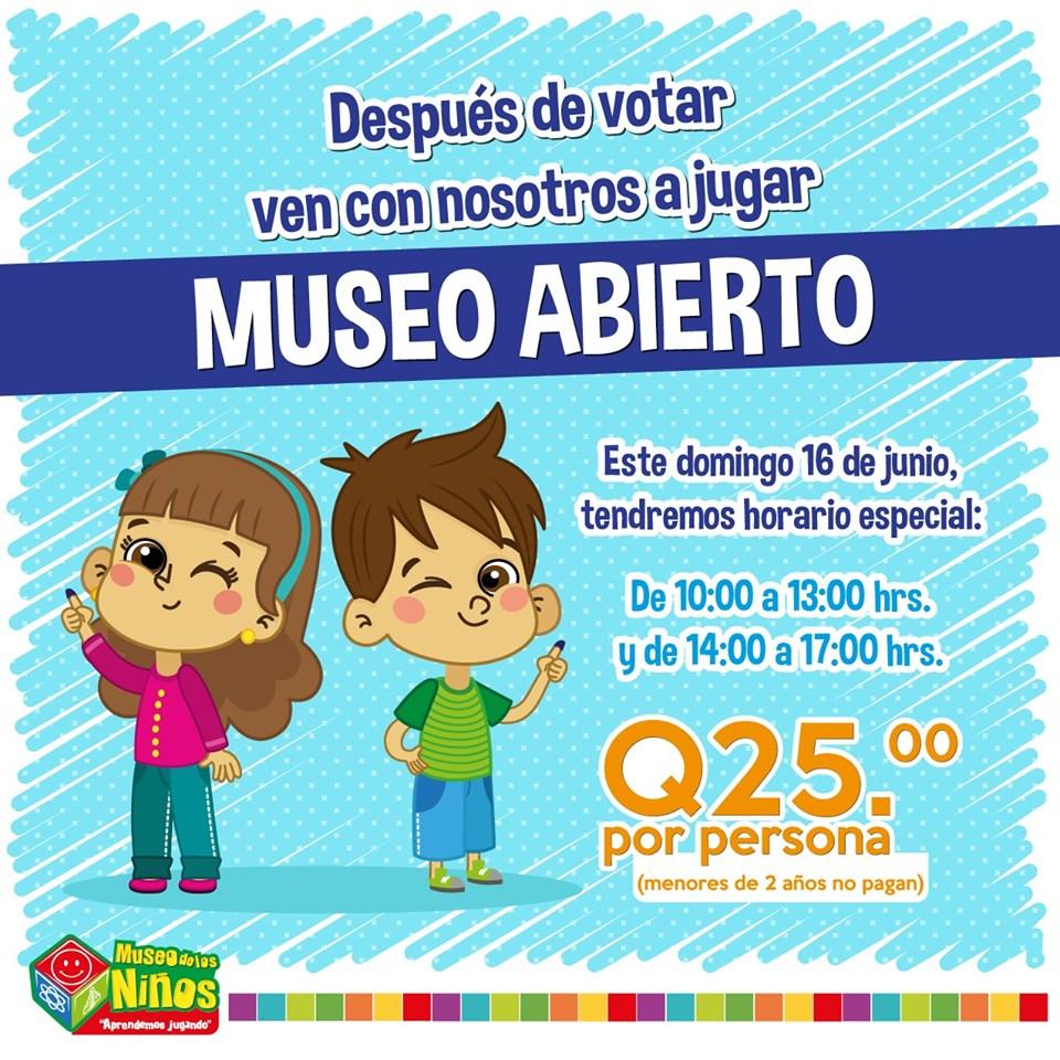Promociones por votaciones Guatemala