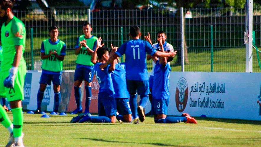 Resultados de Guatemala en el Torneo Esperanzas de Toulon 2019 en Francia