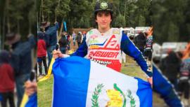 Sebastián Gudiel ganó primer lugar en el Campeonato FIM Latinoamericano de Motocross 2019
