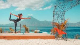 Lugares con vista para hacer yoga en Guatemala