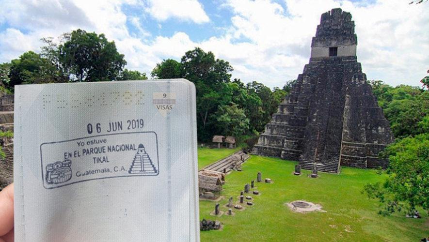 Sella tu pasaporte al visitar el Parque Nacional Tikal en Petén