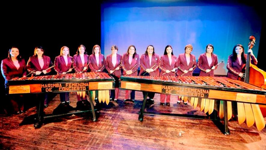 Show gratuito de la Marimba Femenina de Concierto en Chiquimula | Junio 2019