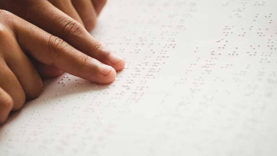 Taller básico de sistema braille en Quetzaltenango | Junio 2019