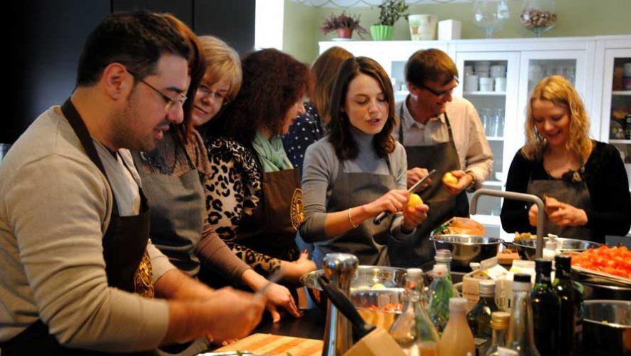 Taller de cocina italiana en Zona 10   Julio 2019