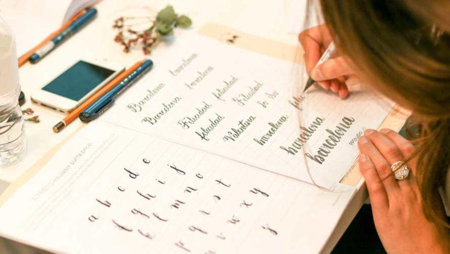 Taller de lettering y caligrafía en Zona 10 | Junio 2019