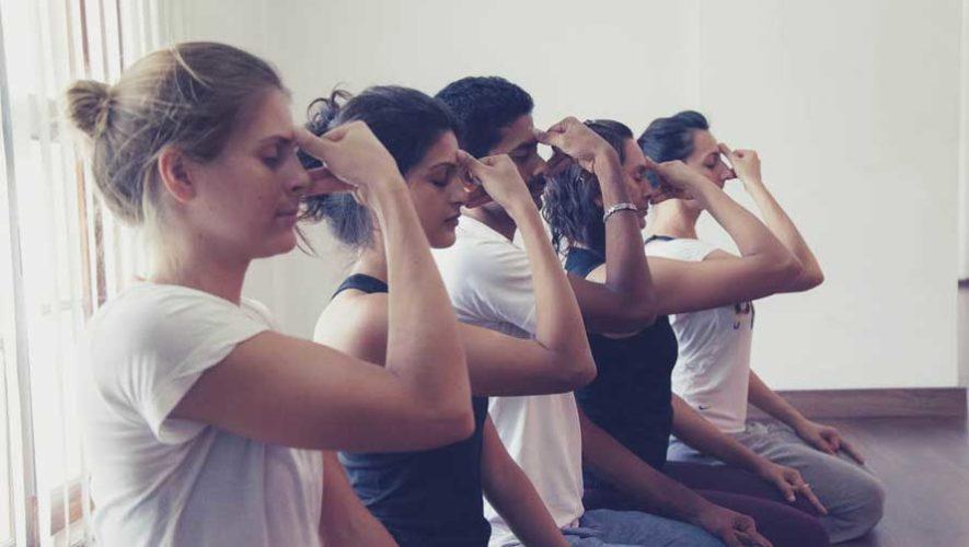Taller de yoga y respiración en Zona 10 | Junio 2019