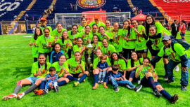 Unifut-Rosal se proclamó tetracampeón en el Torneo Clausura Femenino 2019