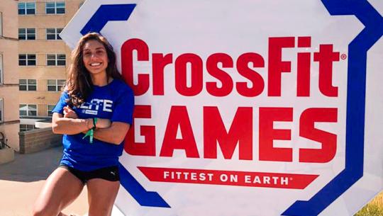Vera Valdez, primera mujer guatemalteca en participar en los Juegos Mundiales de Crossfit