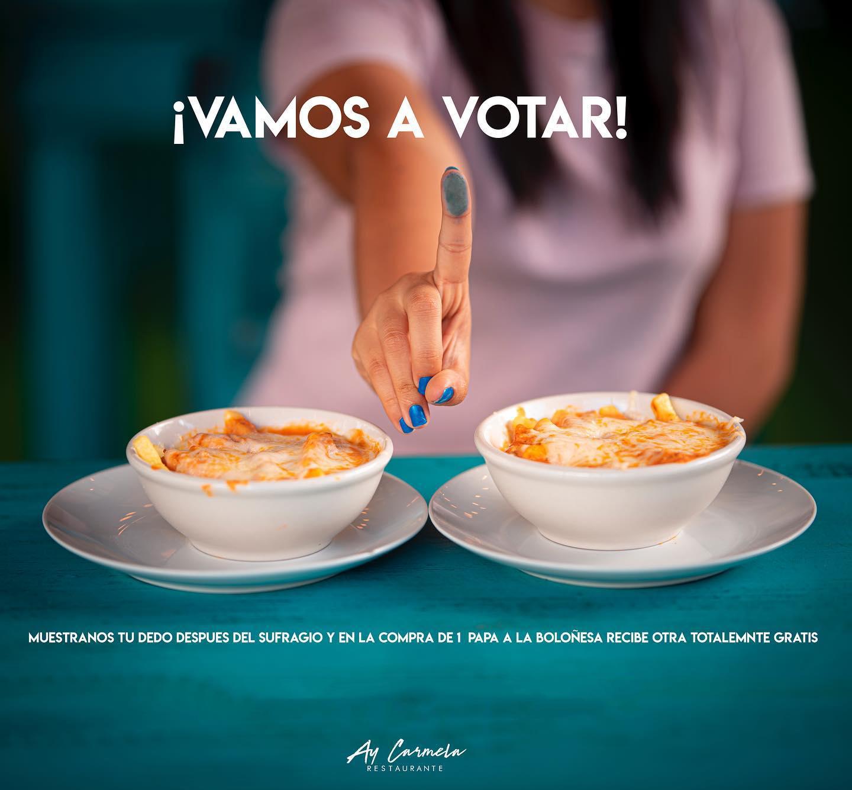 Votaciones en Guatemala promociones