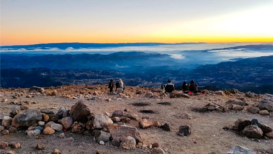 Ascenso nocturno al volcán Tajumulco | Agosto 2019