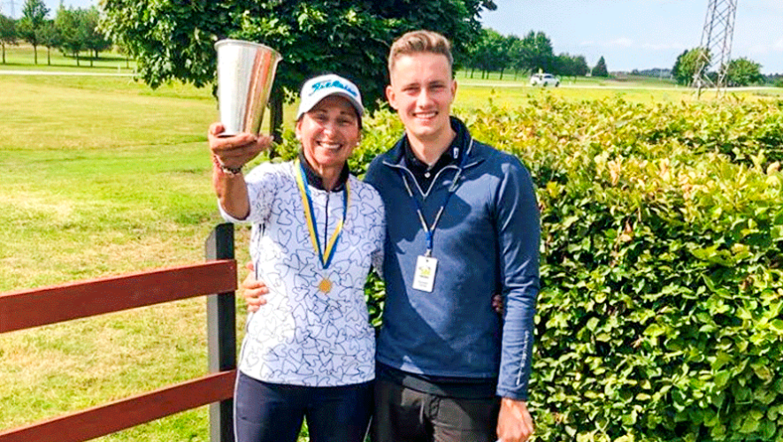 Beatriz de Arenas ganó en su categoría del Sweden Open International Ladies 2019