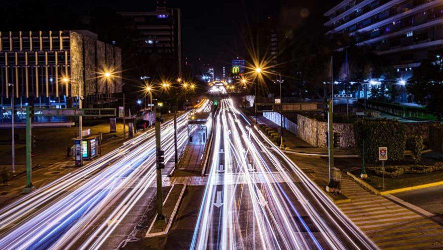 Caminata fotográfica nocturna por la Ciudad de Guatemala | Julio 2019