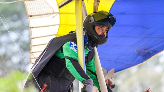 Carlos Alvarado afrontará el Mundial de Ala Delta 2019 en Italia
