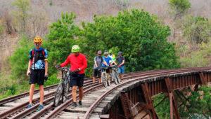 Colazo por las vías férreas de Sanarate, El Progreso | Julio 2019