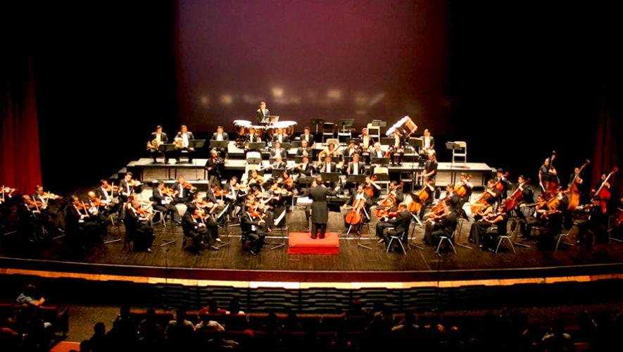 Concierto gratuito de la Orquesta Sinfónica Nacional de Guatemala | Agosto 2019