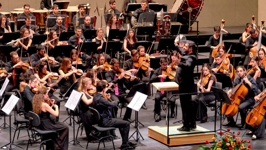 Concierto por la Joven Orquesta Nacional de España en Xela | Agosto 2019