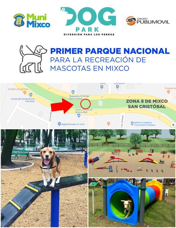 Construirán el primer Parque Nacional para Mascotas en Mixco