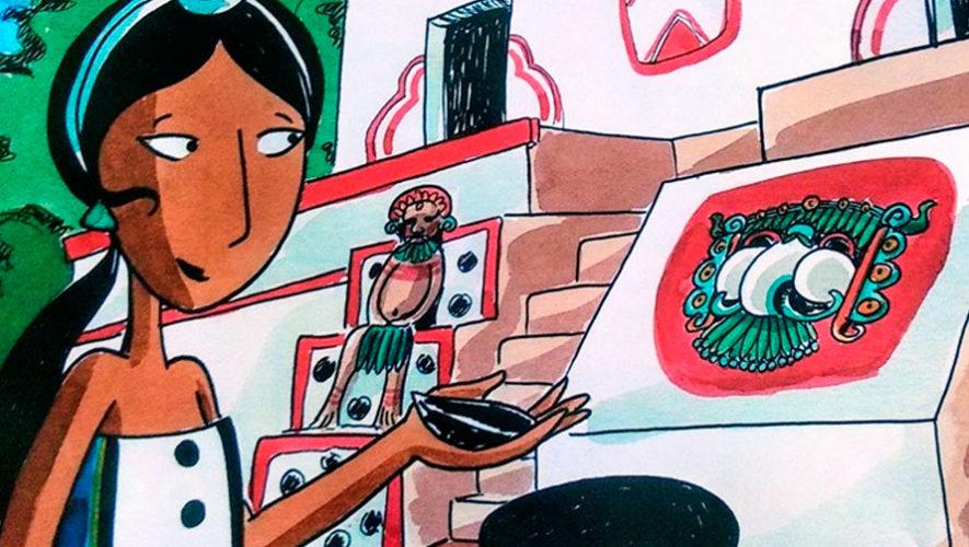 Cuentacuentos para niños acerca de Kaminaljuyú | Julio 2019