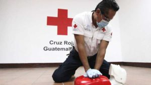 Curso de primeros auxilios de Cruz Roja Guatemalteca   Agosto 2019