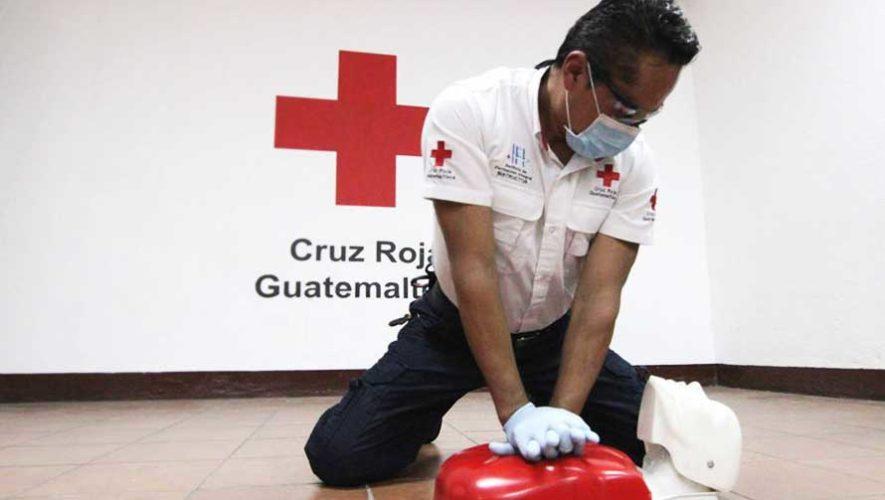 Curso de primeros auxilios de Cruz Roja Guatemalteca | Agosto 2019