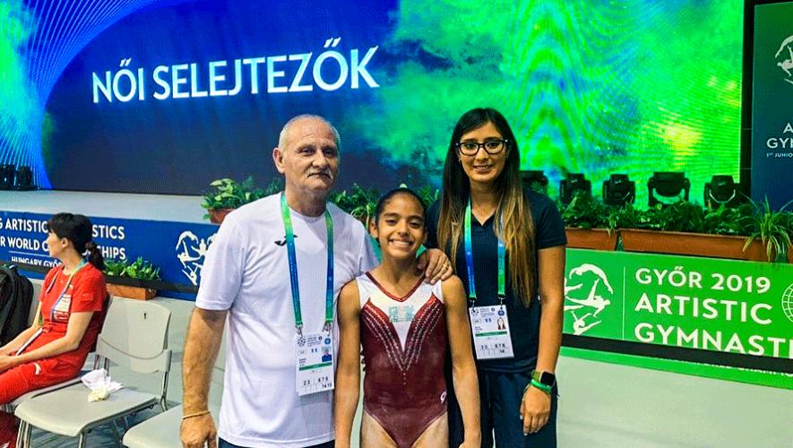Daniela Dorigoni, la representante guatemalteca en el Mundial Juvenil 2019 en Hungría