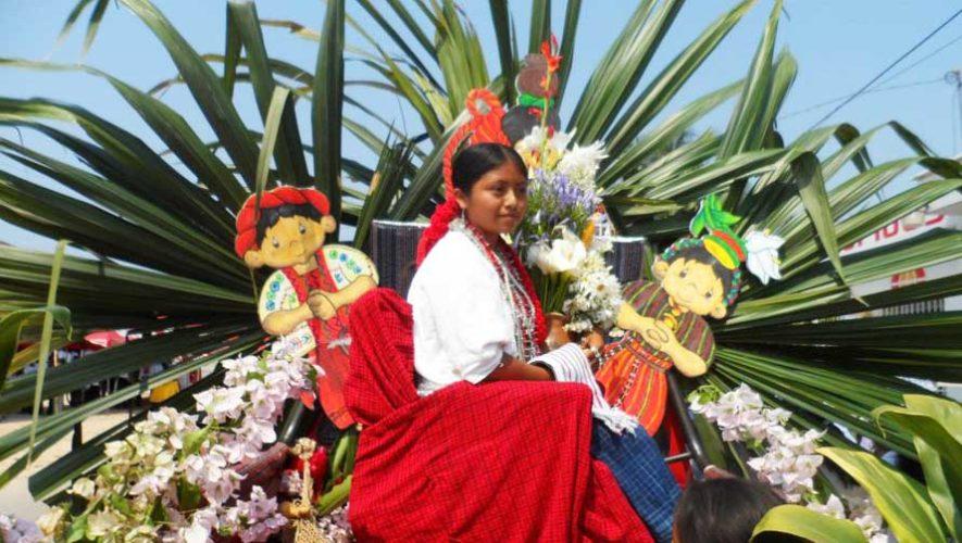 Desfile de carrozas en Alta Verapaz   Agosto 2019
