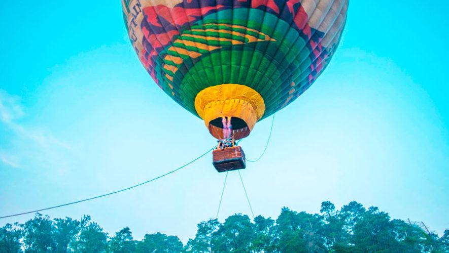 Elevación en globo aerostático en Laguna El Pino | Julio 2019