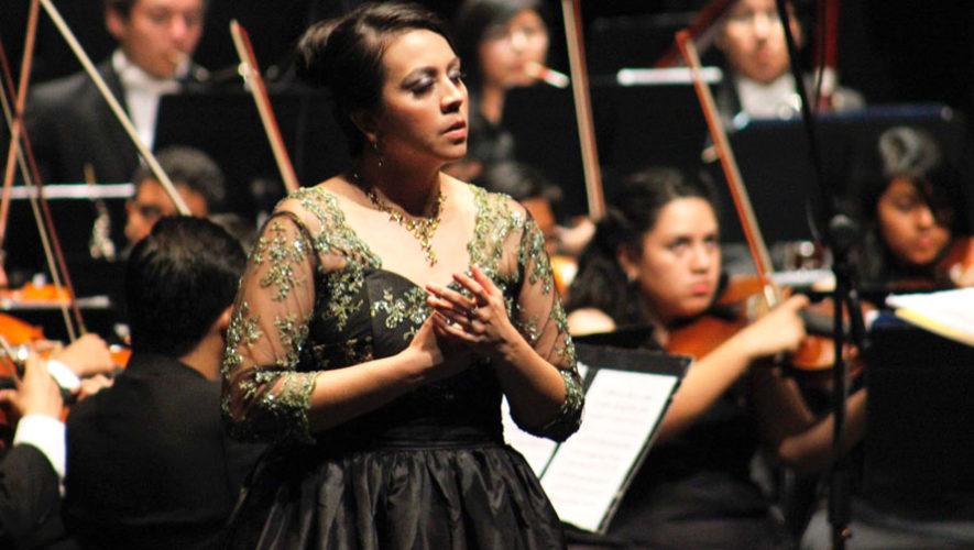 Europa y América, recital gratuito por soprano guatemalteca | Agosto 2019