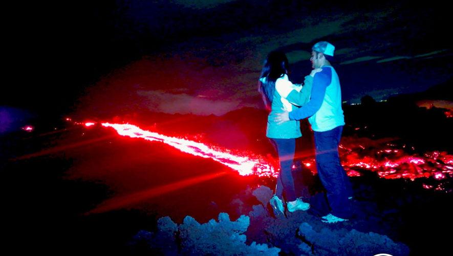 Expedición al Volcán de Pacaya y sus ríos de lava   Julio 2019