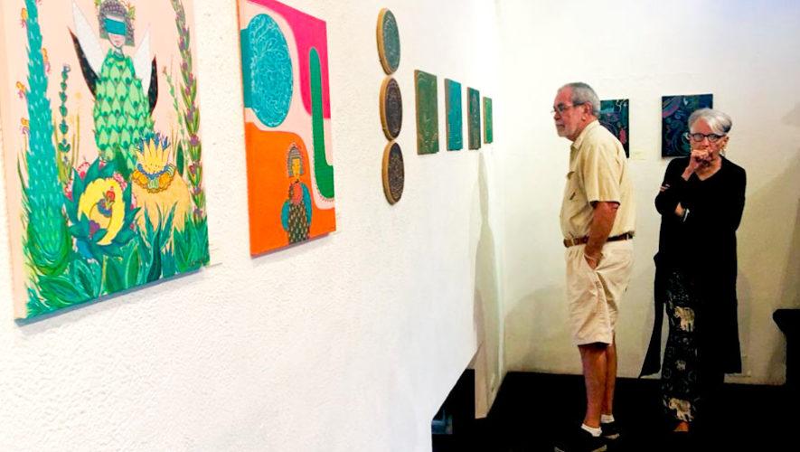 Exposición de arte de Lucrecia Muñoz en Antigua Guatemala | Julio - Agosto 2019
