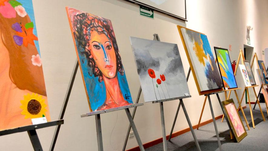 Exposición de obras de artistas cobaneros | Agosto 2019