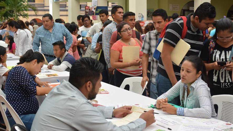 Feria de empleo en San Lucas Sacatepéquez   Agosto 2019