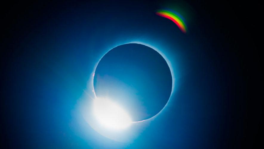Fotos del Eclipse Total de Sol que fueron captadas por guatemaltecos en julio de 2019