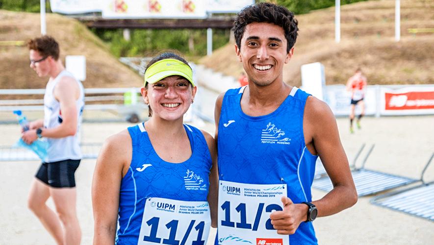 Gabriela Fernández y Alejandro Santis, en el top 10 del Mundial Junior 2019