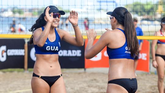 Guatemala alberga el XII Campeonato Centroamericano Sub-21 de Playa 2019