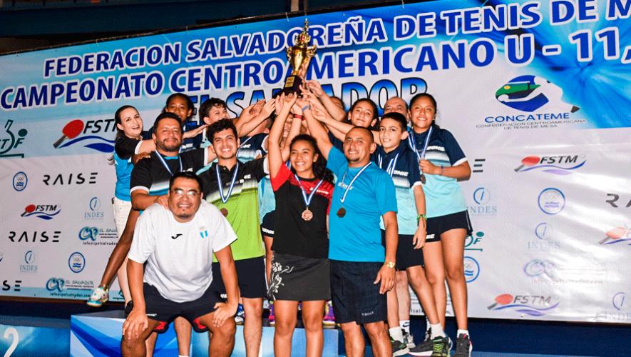 Guatemala brilló con 24 medallas en el Centroamericano U-11 y U-13 2019
