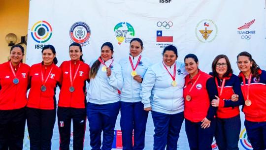 Guatemala se quedó con 6 oros del VI Campeonato Iberoamericano ISSF 2019