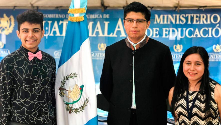 Guatemaltecos participan en Olimpiada de Matemática 2019 en Londres, Inglaterra