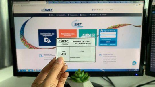 Cómo pagar en línea el impuesto de circulación de vehículos en Guatemala