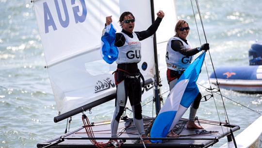 Los deportes más exitosos en Guatemala: Navegación a vela